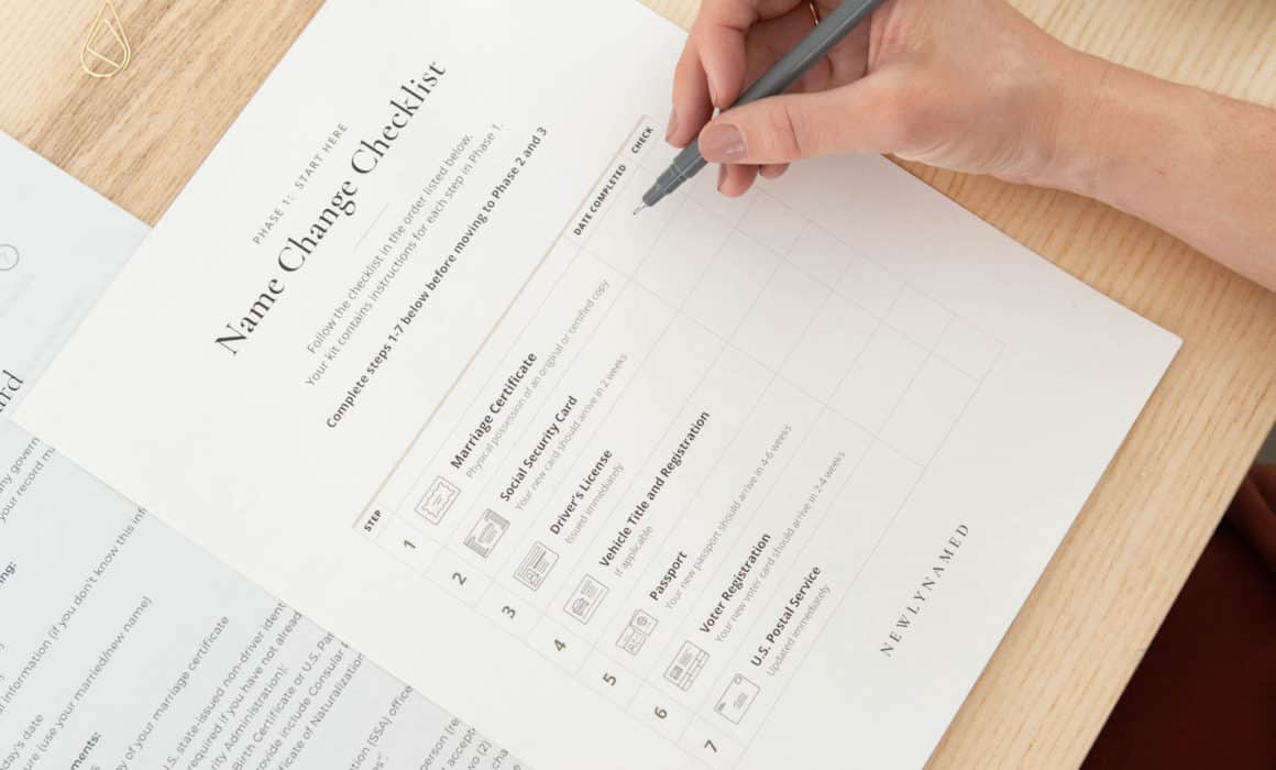 Name Change After Marriage [2020 Checklist] | Start Here