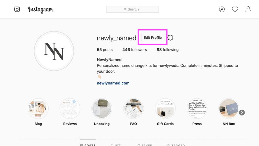 instagram name change 5