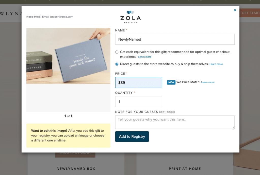newlynamed zola
